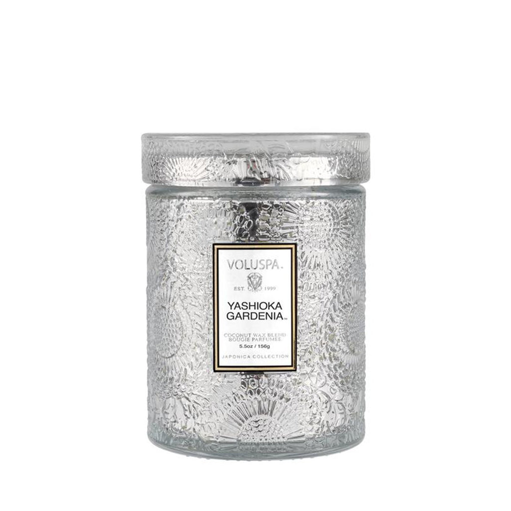 Buy Yashioka Gardenia Glass Candle by Voluspa - at White Doors & Co
