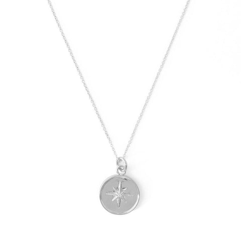 Honeycat - Celestial Starburst Necklace - Silver