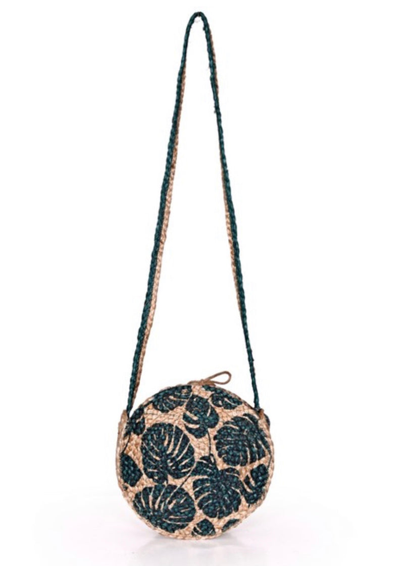 Beyond - Tropical Crossbody Tote