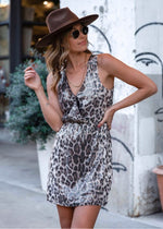 Lovestitch - Sequins Leopard Dress