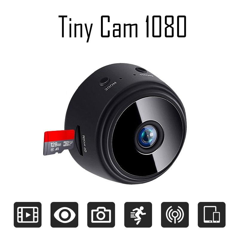 1080 Mini Camera Night Vision Motion Detect WiFi Remote Viewing