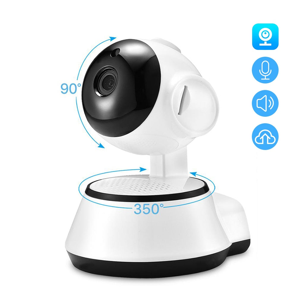 Home Monitor - 1080P Tilt Pan WiFi Camera - Baby Monitor - Night Vision - Motion Detector - Remote Access Viewing
