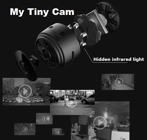 MyTiny™ Cam - Wireless Camera (Infrared Night Vision + Smart Home Security + Baby Monitor + Motion Detection)