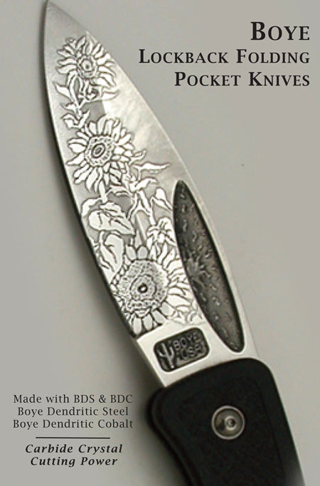 Boye Lockback Folding Pocket Knives
