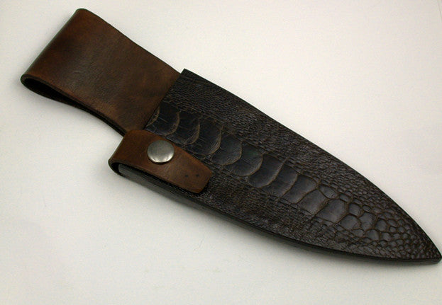 Belt Sheath for 6 inch Chef's Knife.