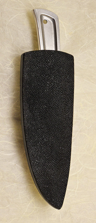 Basic 3 Double-sided Black Stingray Sheath.