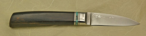 2.5 inch Persona Paring Knife with '3-Stalk Bamboo'  Etching.