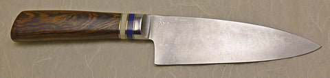 6 inch Chef's Knife with Laura Woodrow Signature.