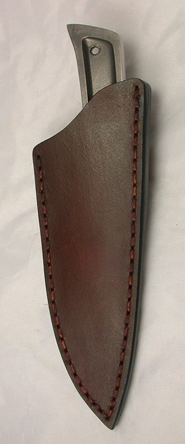 Basic 3 Leather Pouch Belt Sheath.