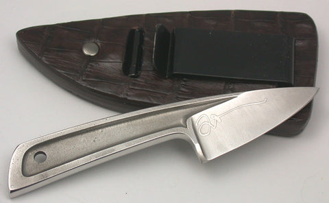 Back View Sheath with Knife