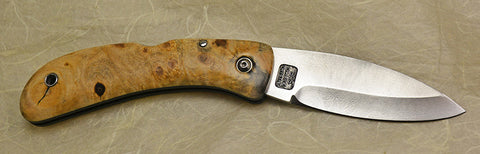 Boye Custom Celtic Horse Lockback Folding Pocket Knife with 'Celtic Horse' Etching.