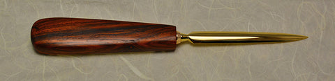 3.5 inch Desktop Letter Opener with Inlaid Handle - 5.