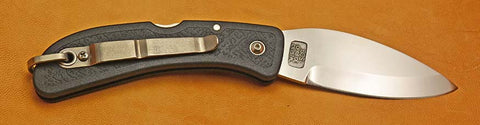 Boye Cobalt Mountain Lockback Folding Pocket Knife.