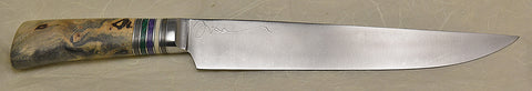 10 inch Carving Knife with 'Larry's Orchid' Etching