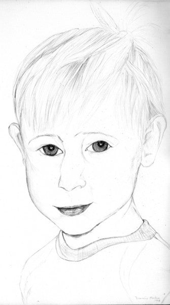 Portrait of Young Boy.