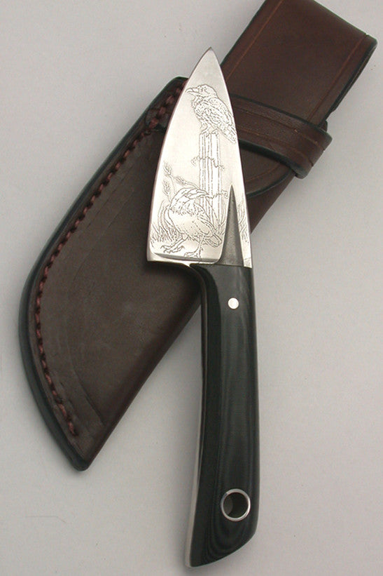 Boye Basic 2 with Handle and '2 Ravens' Etching.