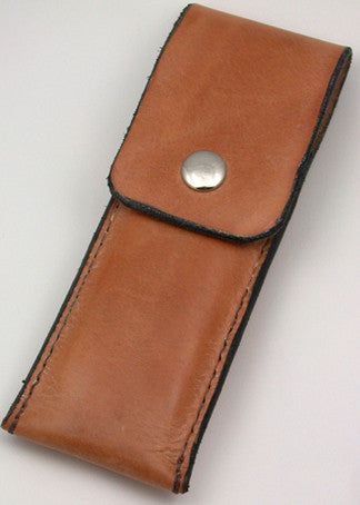 Basic 2 Brass-lined Leather Sheath.