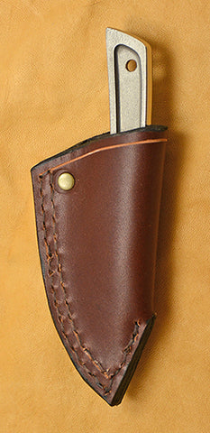 Boye Basic 1 Cobalt with Leather Sheath and Belt Clip.