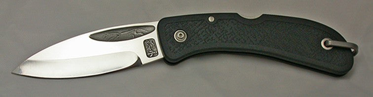 Boye Cobalt Celtic Horse Lockback Folding Pocket Knife.