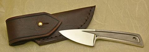 Boye Basic 1 Cobalt with Leather Sheath.