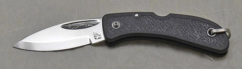 Boye Cobalt Celtic Horse Lockback Folding Pocket Knife - Second.