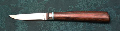 3 inch Paring Knife with Dendritic Cobalt Blade and Desert Ironwood Handle-2.