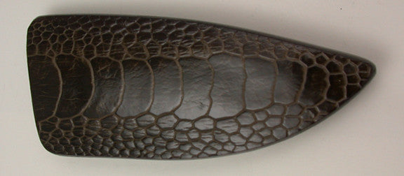 Basic 1 Double-sided Dark Brown Ostrich Sheath.