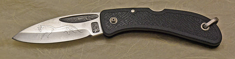 Boye Celtic Horse Lockback Folding Pocket Knife with 'Celtic Horse' Etching-2.