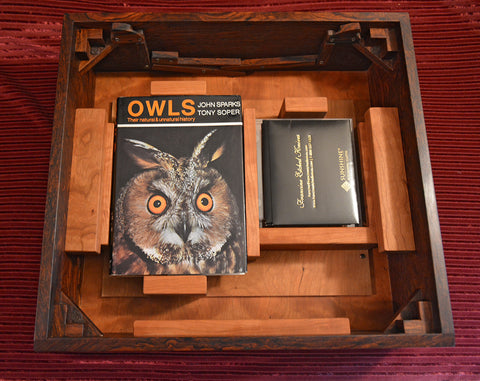 Home for CD of Barn Owl Sounds, Polishing Cloths, and Book That Helped Inspire the Barn Owl Project