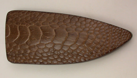 Basic 1 Double-sided Light Brown Ostrich Sheath.