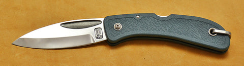 Boye Cobalt Prophet Lockback Folding Pocket Knife with Blue Handle.