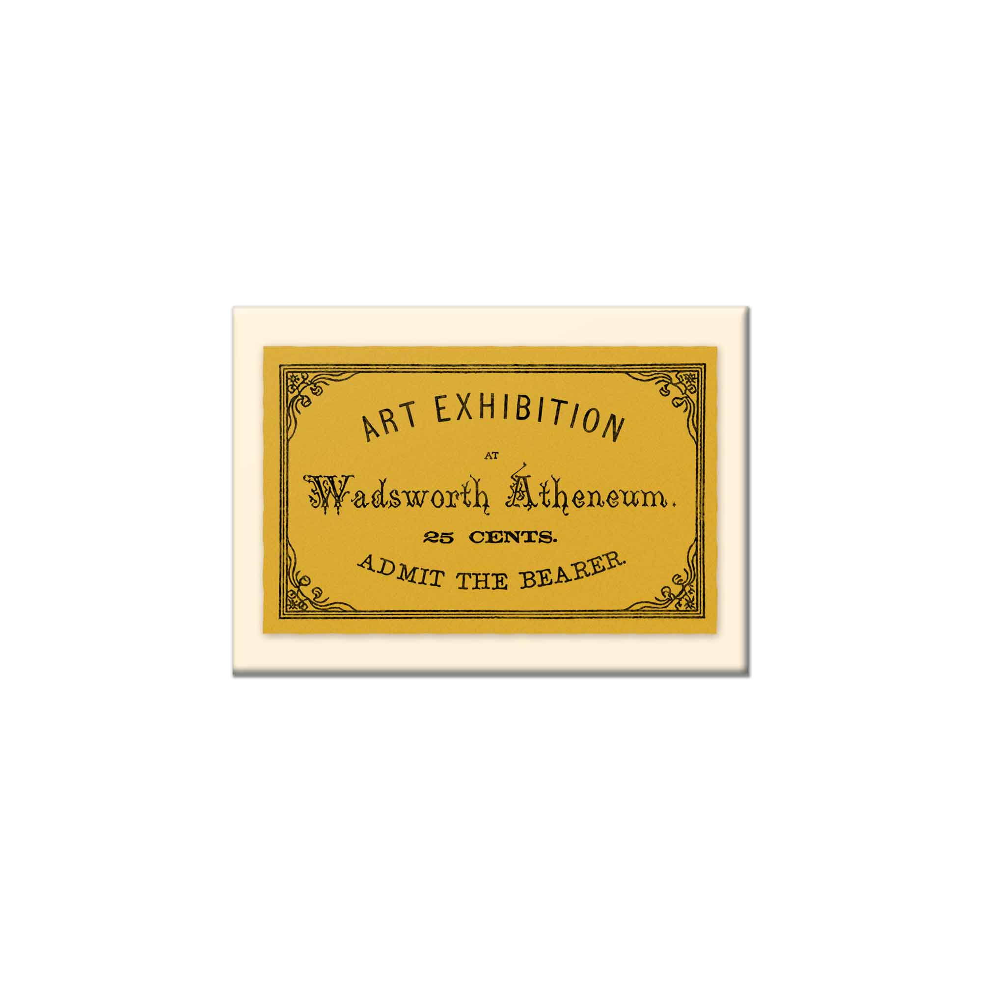 Wadsworth - Art Exhibition Ticket Magnet