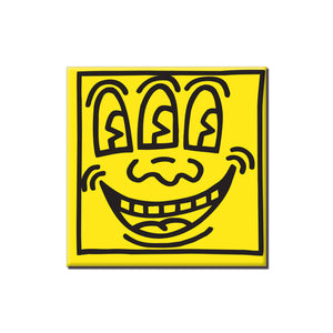 Keith Haring - Face Yellow Magnet