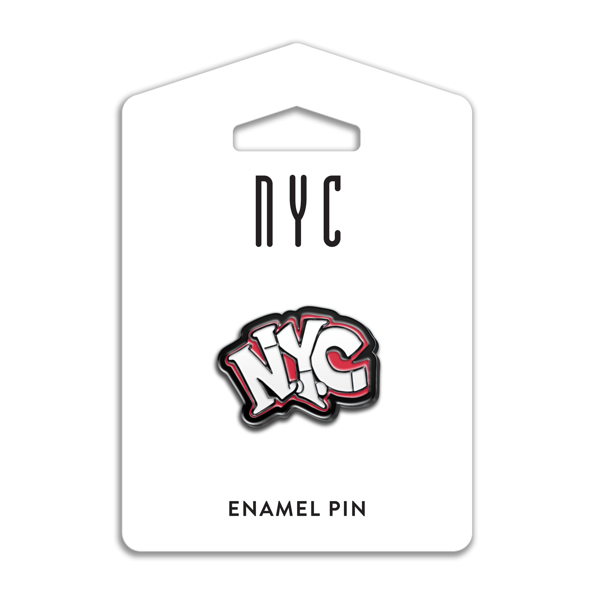 NYC Graffiti Enamel Pin