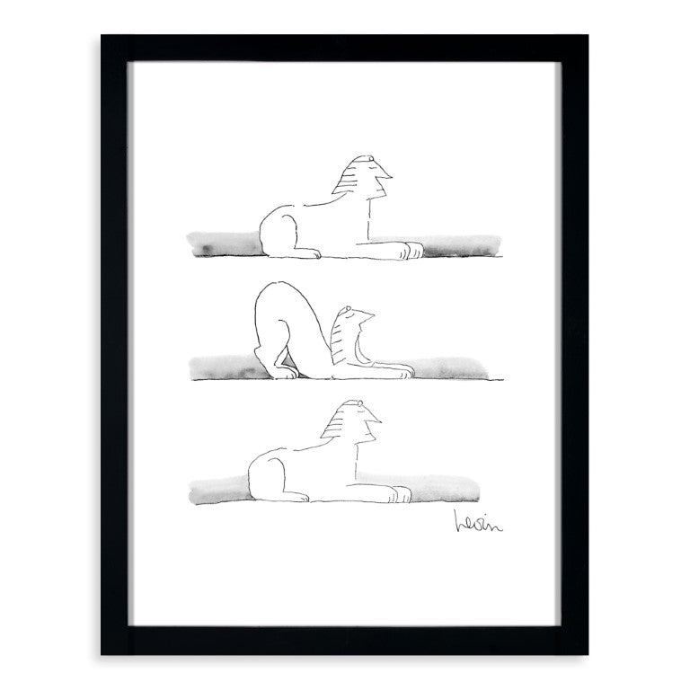Levin - Stretching Sphinx 11x14 Framed Print