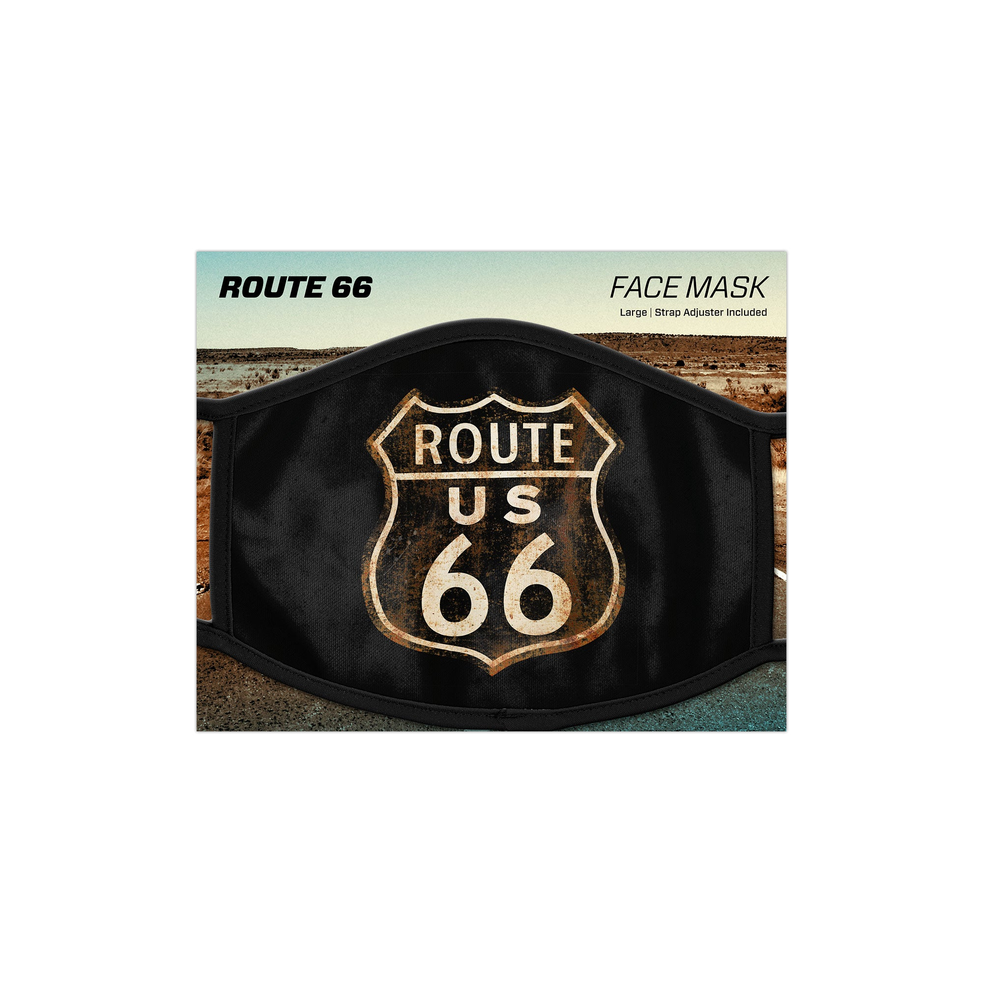 Route 66 Face Mask