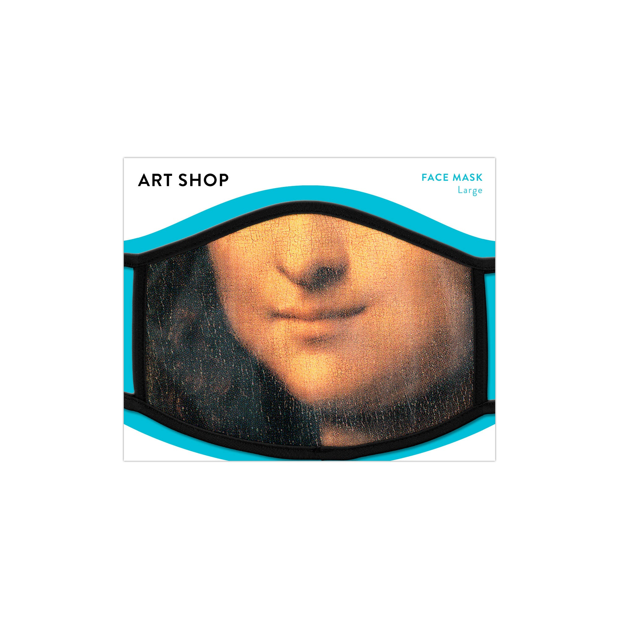Mona Lisa Face Mask