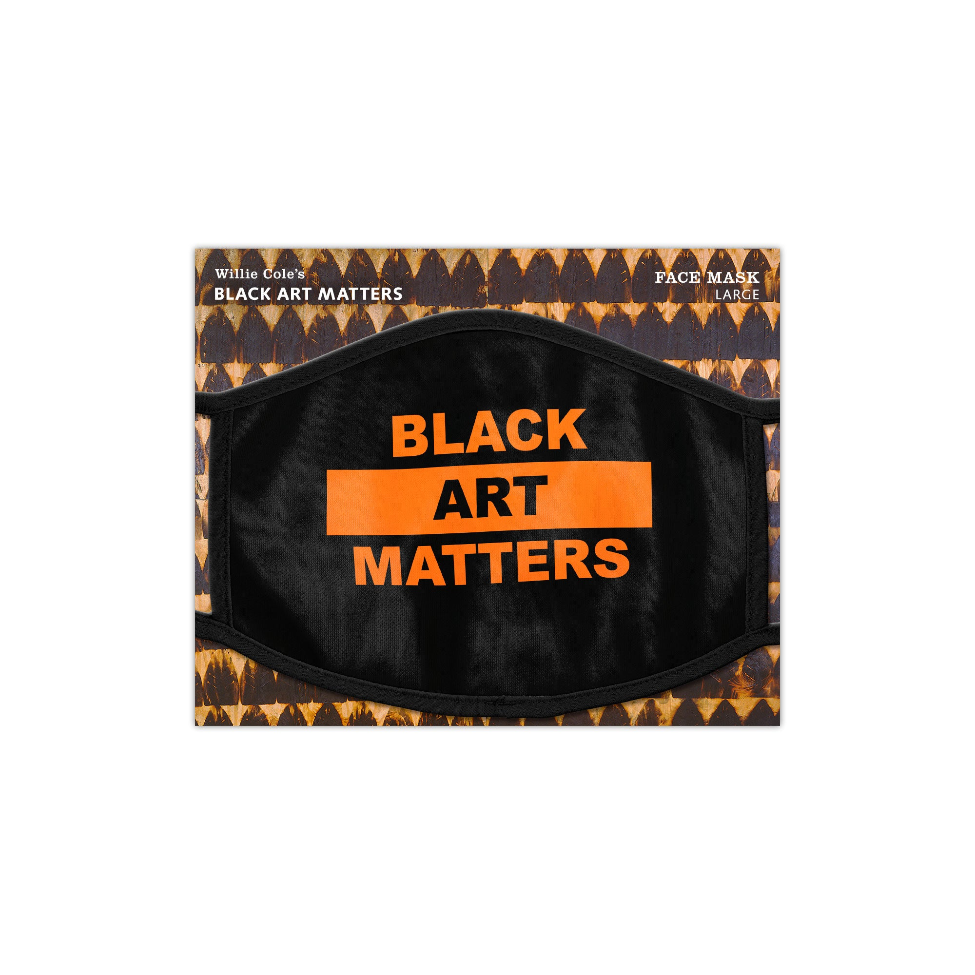 Willie Cole Black Art Matters Face Mask
