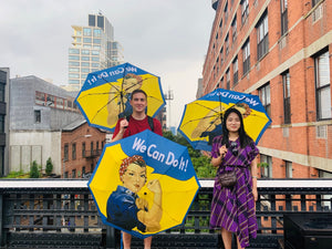 Rosie the Riveter Umbrella