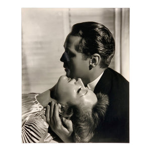 George Hurrell - Joan Crawford and Franchot Tone Gelatin Silver Photograph