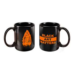Willie Cole Black Art Matters Mug