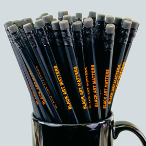 Willie Cole Black Art Matters Pencil