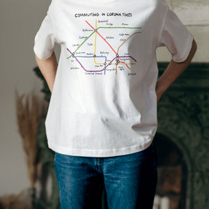 Commuting in Corona Times T-Shirt