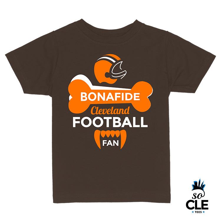 Bonafide CLE Football Fan Toddler