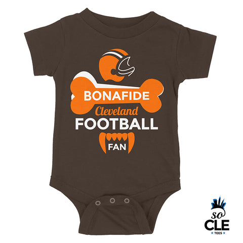 Bonafide Cleveland Football Fan Baby