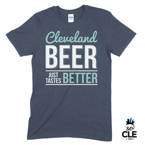 Cleveland Beer (Heather Navy)