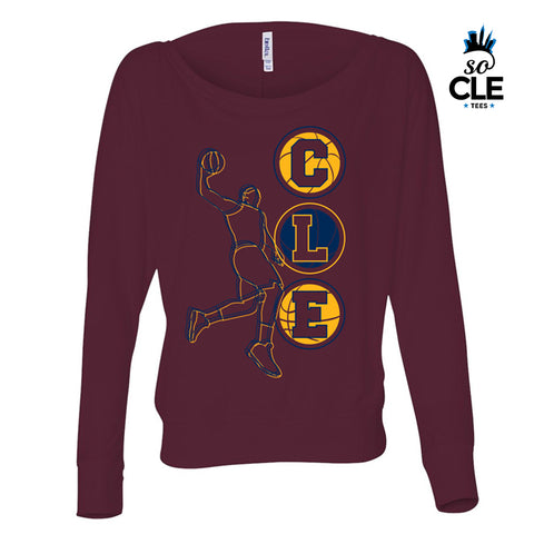 CLE Basketball Ladies L/S