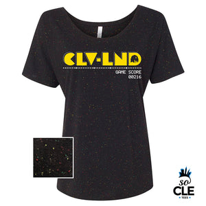CLVLND Pacman Ladies (Speckled)
