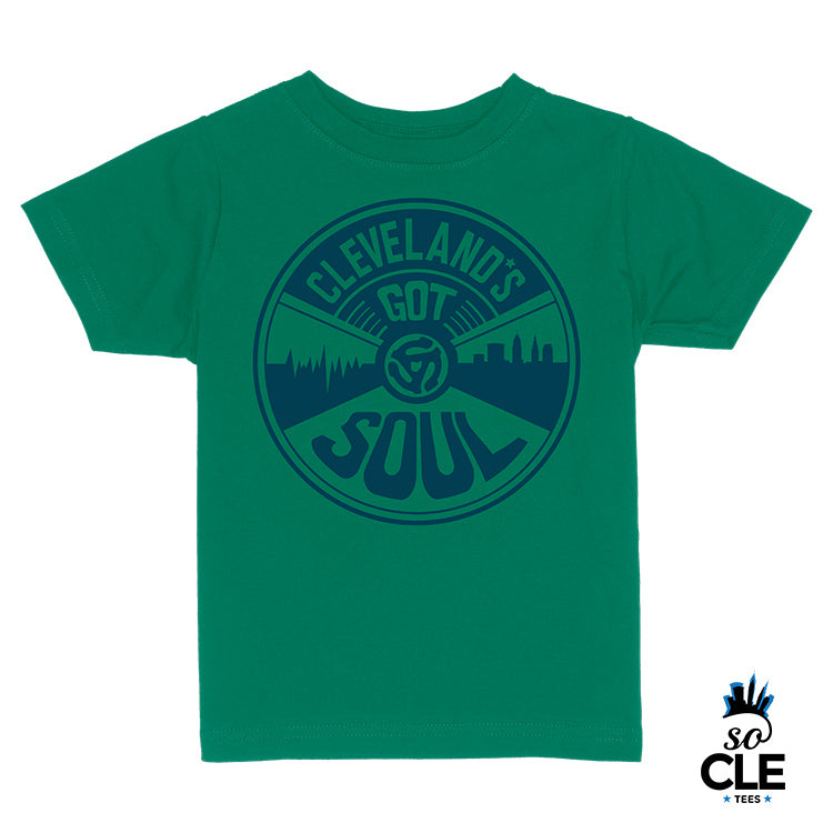 Cleveland's Got Soul Toddler (Green)
