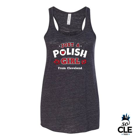 Just A Polish Girl Ladies Tank Top